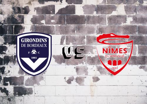 Bordeaux vs Nîmes   Resumen