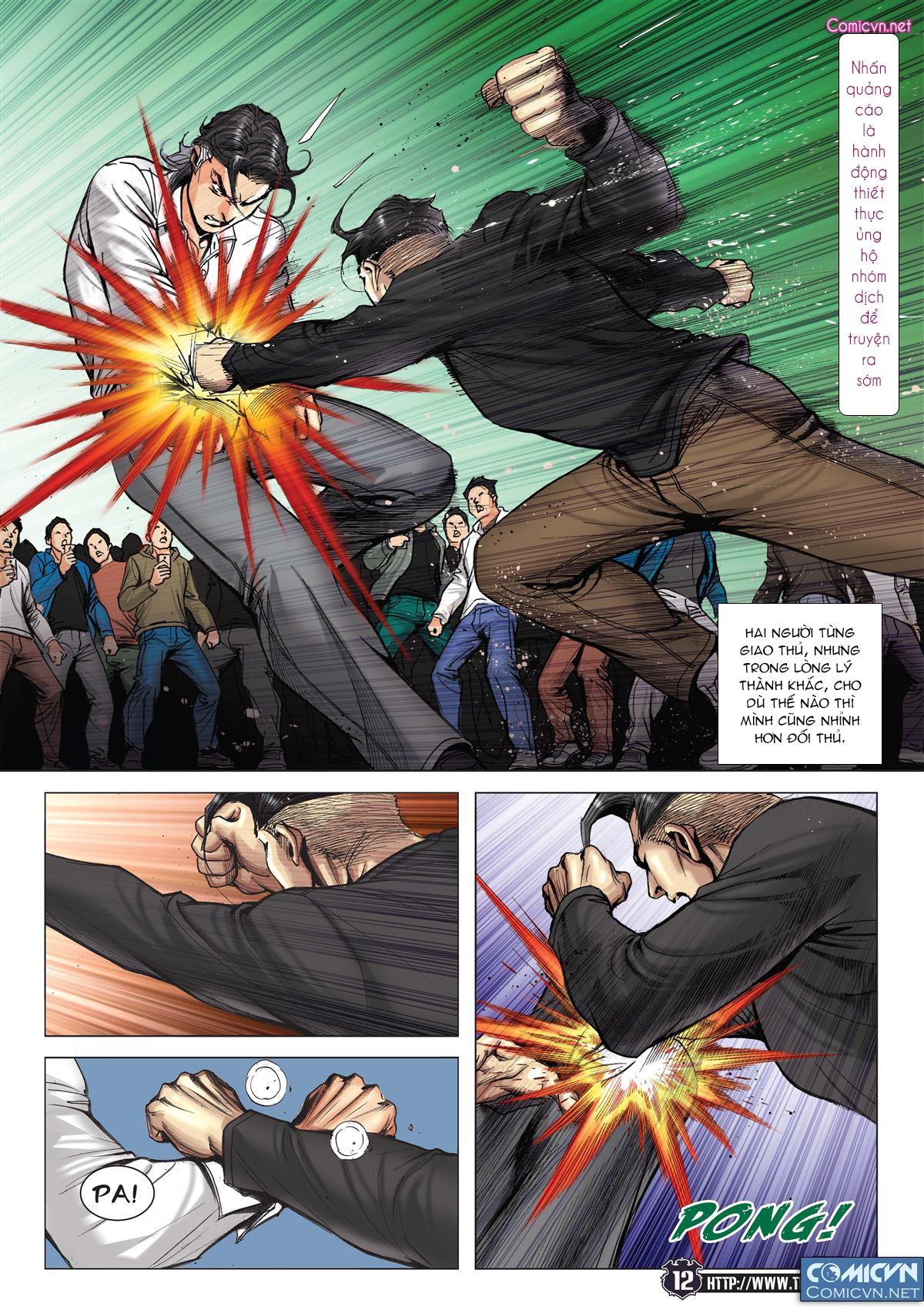 Người Trong Giang Hồ chapter 2093: nó là tay trong trang 11