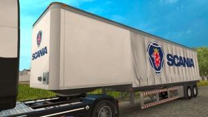 Scania curtain trailer mod