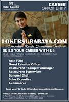 Career Opportunity at Hotel Santika Gubeng Surabaya October 2019