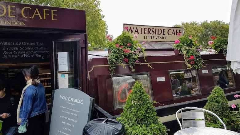 遊船結束後到附近的運河邊 Cafe 吃早午餐