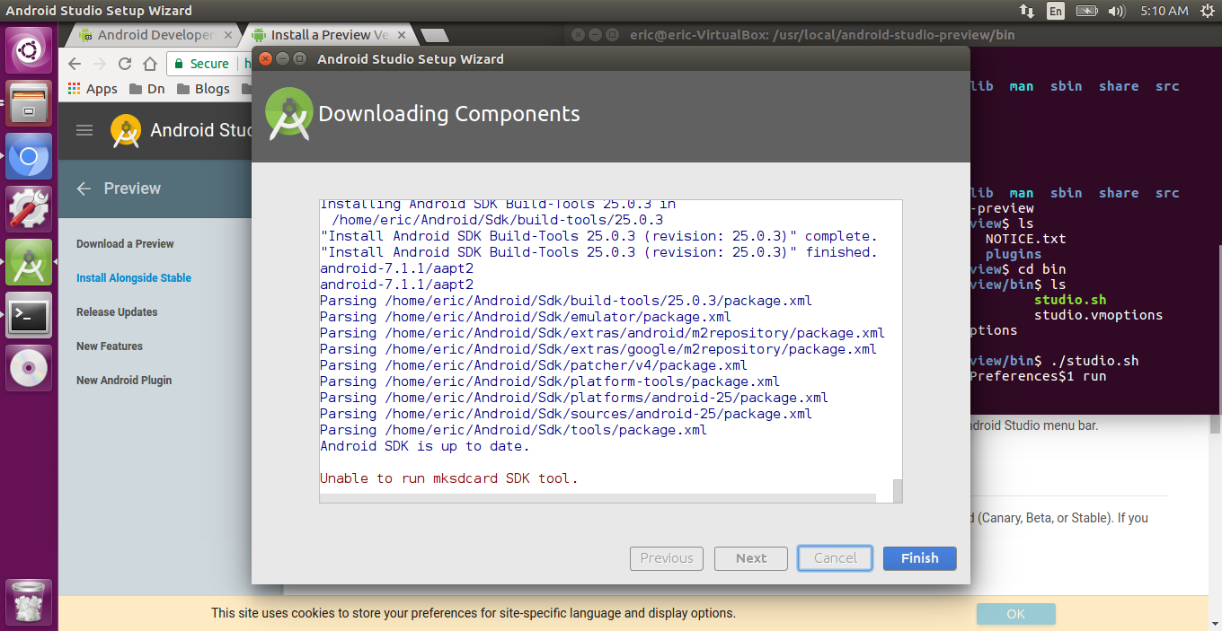 android sdk manager download for windows 10