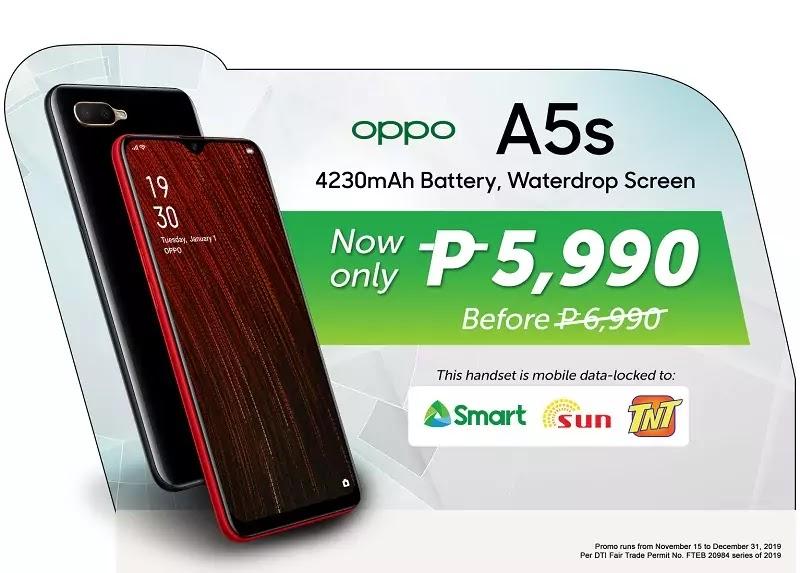 Smart OPPO A5s Offer