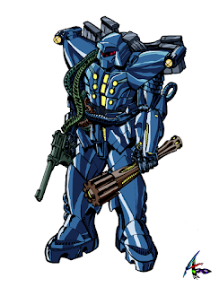 AZX-001 Heavy Armor Dolph X