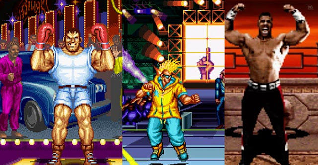 90s african american characters in fighting games