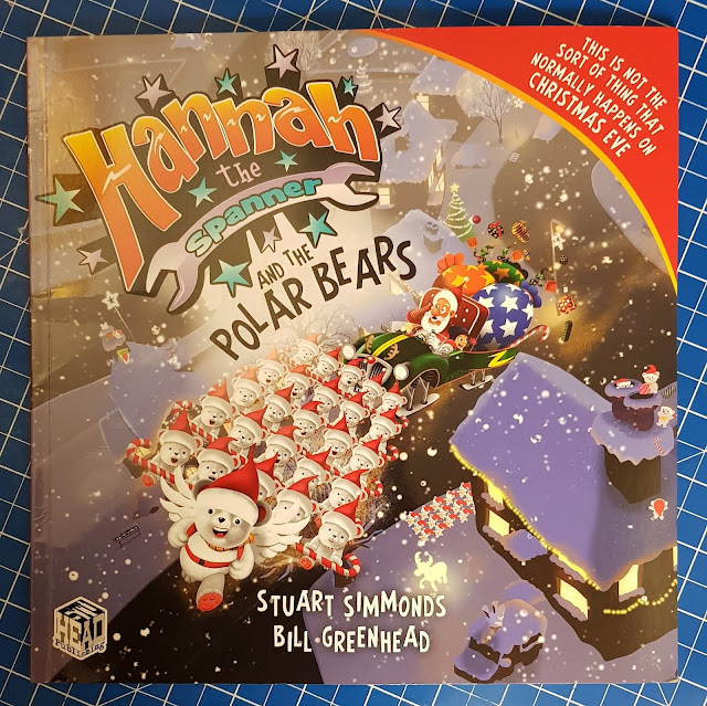 Hannah The Spanner And The Polar Bears Children's Story Book Review