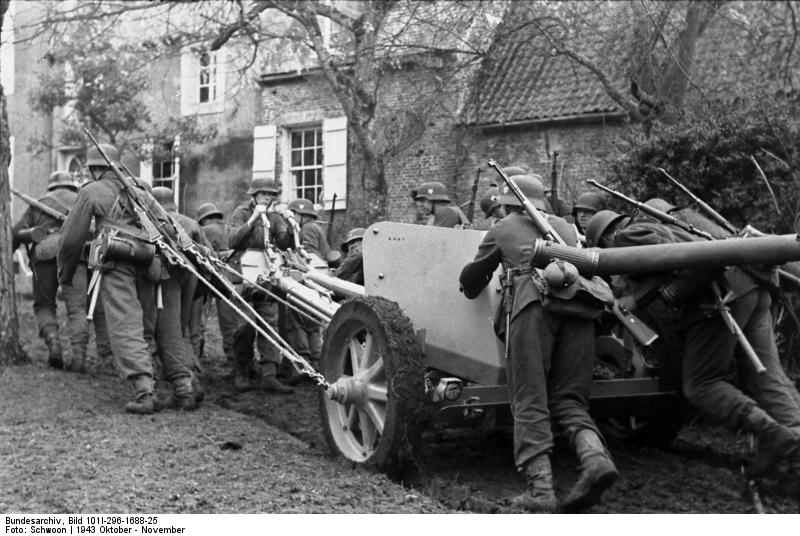 German 50 Mm Anti Tank Gun: Guerra Abierta: PaK 40 De 75 Mm