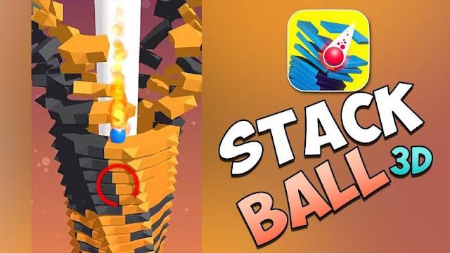 تحميل لعبة Stack Ball مهكرة آخر اصدار مجانا