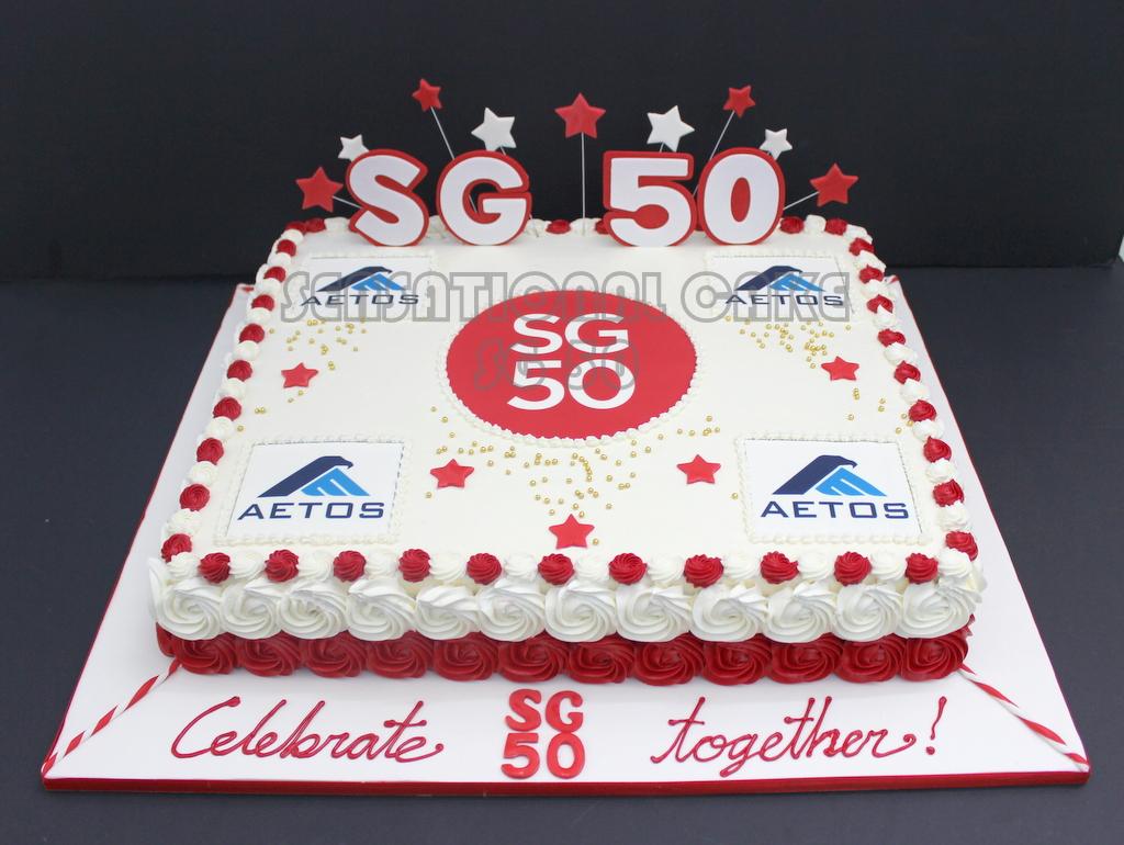 The Sensational Cakes Sensational Cakes Celebrates Sg50