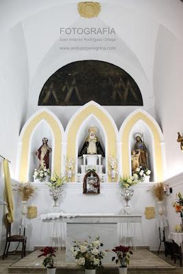 Alta mayor Santa Brígida Álora