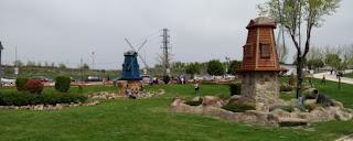Torrejón de Ardoz, Parque Europa. Los molinos de viento de Países Bajos.