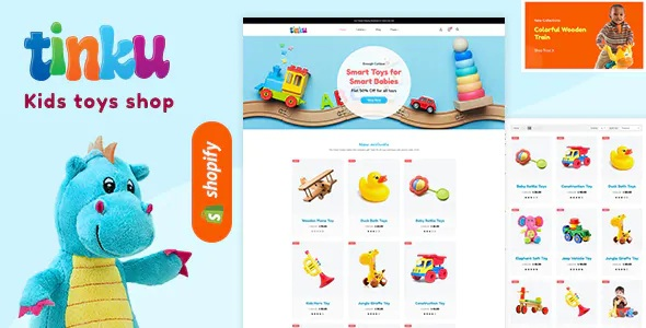 Best Toys, Games & Kids Store Shopify Theme