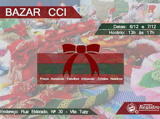 Centro de Convivência do Idoso de Registro-SP promove Bazar