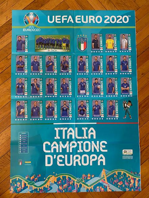 figurine panini poster italia