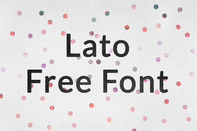 how to download lato font