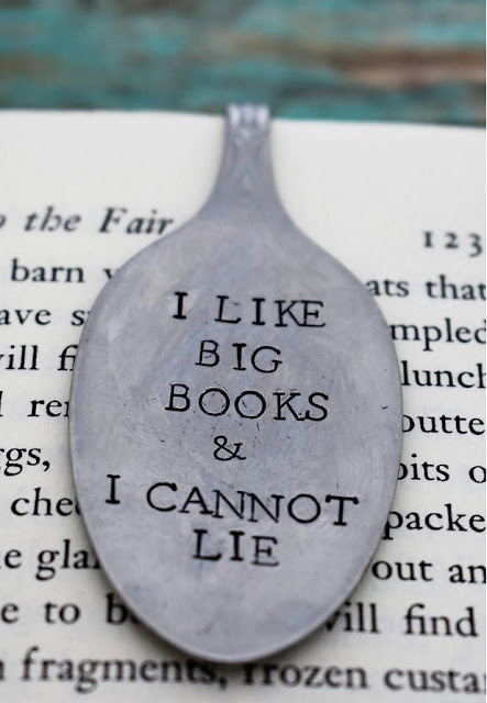 I Like Big Books and I Cannot Lie Bookmark