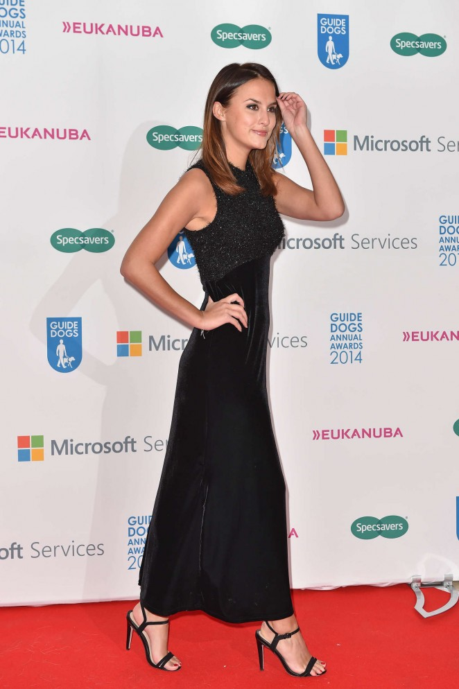 British Journalist In Long Black Gown Lucy Watson