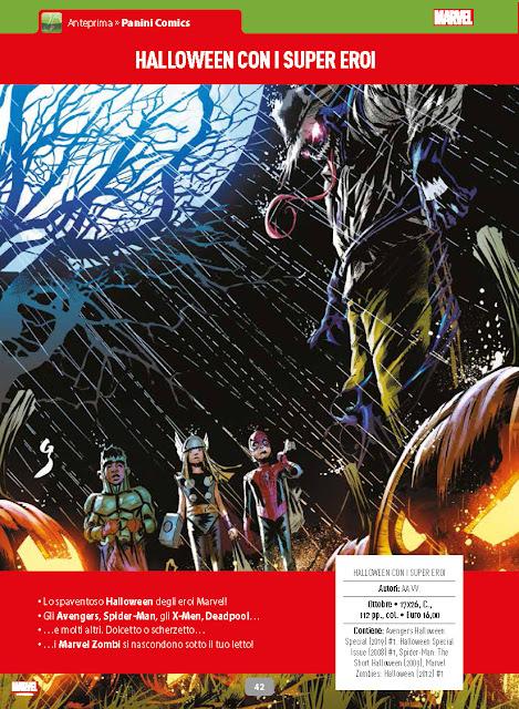 Halloween con i supereroi