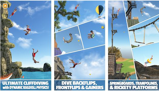 download Flip Diving MOD APK 3.0.05 (Unlimited Money/Coins) 1