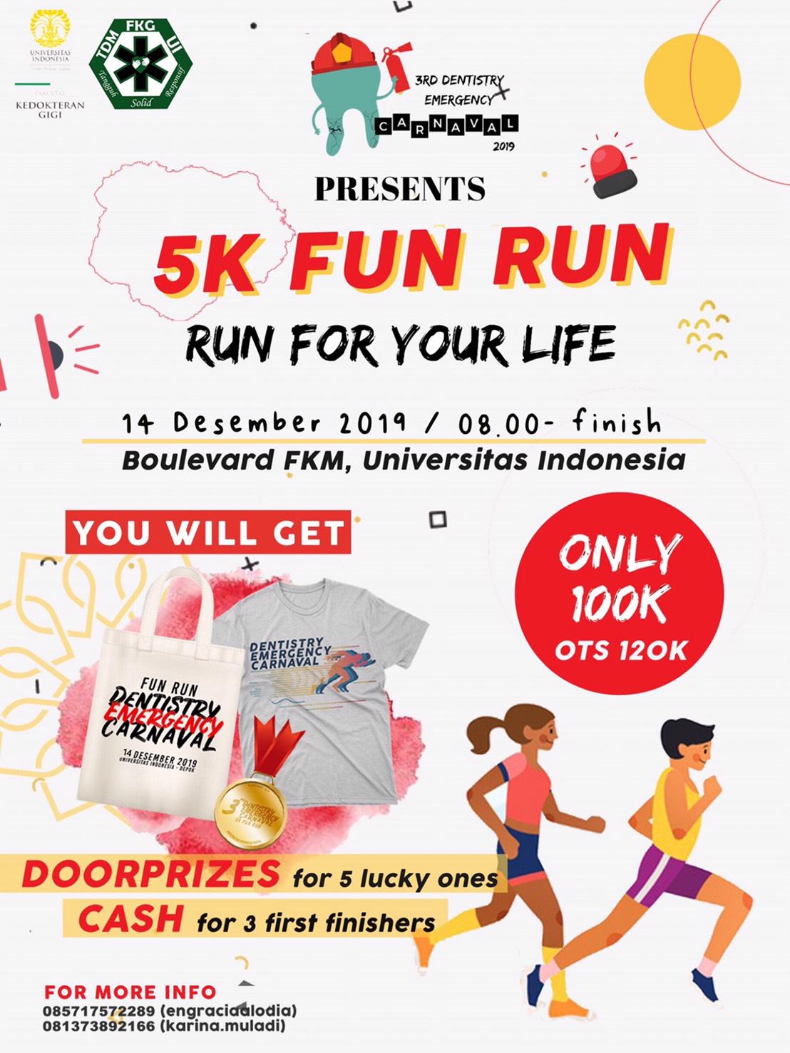 Dentistry Emergency Carnaval / DEC Fun Run • 2019