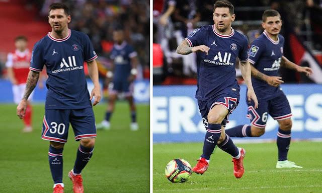 ميسي مع باريس سان جيرمان Messi makes PSG
