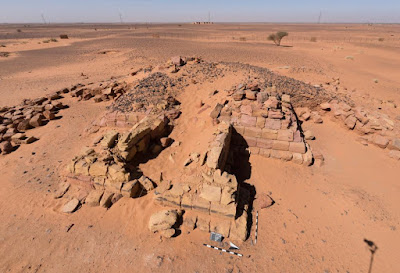 Tomb of one of the most ancient royal pyramids at Meroe reopened