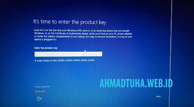 Cara instal Windows 10 dengan Flashdisk di Laptop Acer Lengkap dengan Gambar