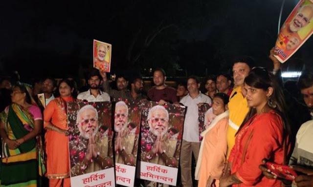 अमेरिका से भारत लौटे PM मोदी, एयरपोर्ट पर जोरदार स्वागत - newsonfloor.com