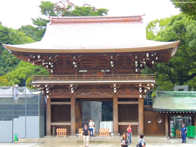 Minami Shinmon en el Santuario Meiji, Tokio