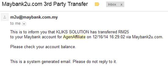 Buat duit dengan affiliate