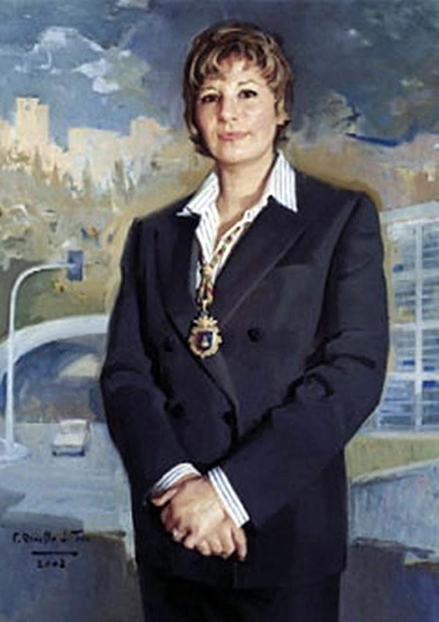 Celia Villalobos Talero, Félix Revello de Toro, Revello de Toro, Pintores Malagueños, Retratos de Revello de Toro, Pintor español, Pintores de Málaga, Pintor Revello de Toro