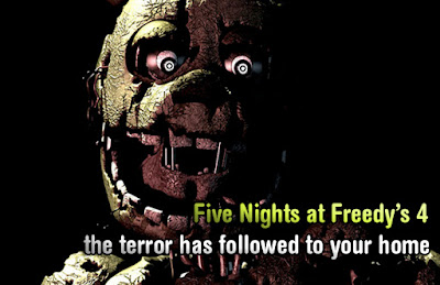 Download Game Gratis: Five Nights at Freddy's 4 - PC Full Version