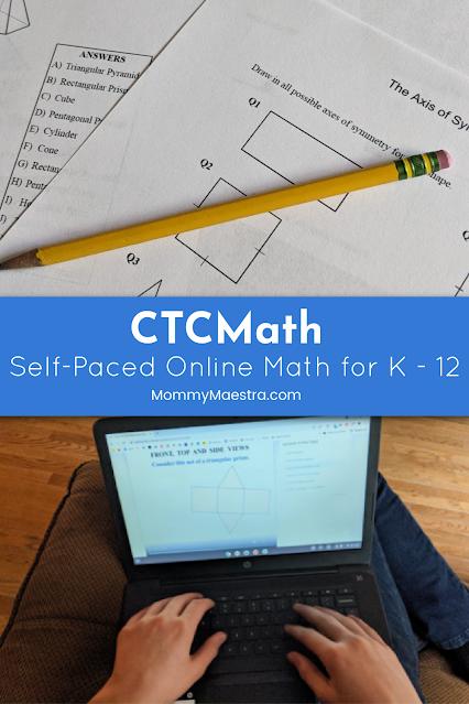 CTCMath: Online Math for K - 12