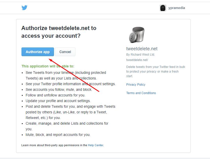 Cara Menghapus Semua Tweet Secara Otomatis di Twitter