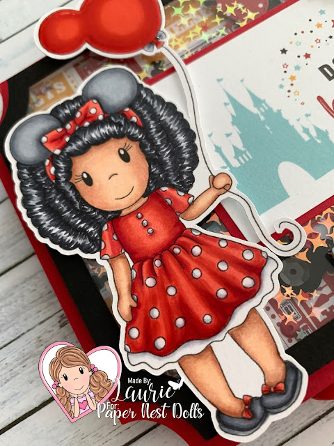 Close Up of My Minnie Amara Card