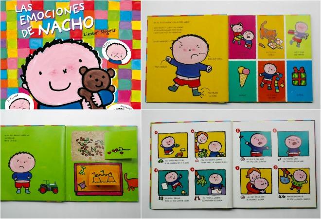 Libro infantil para la educación emocional: las emociones de nacho