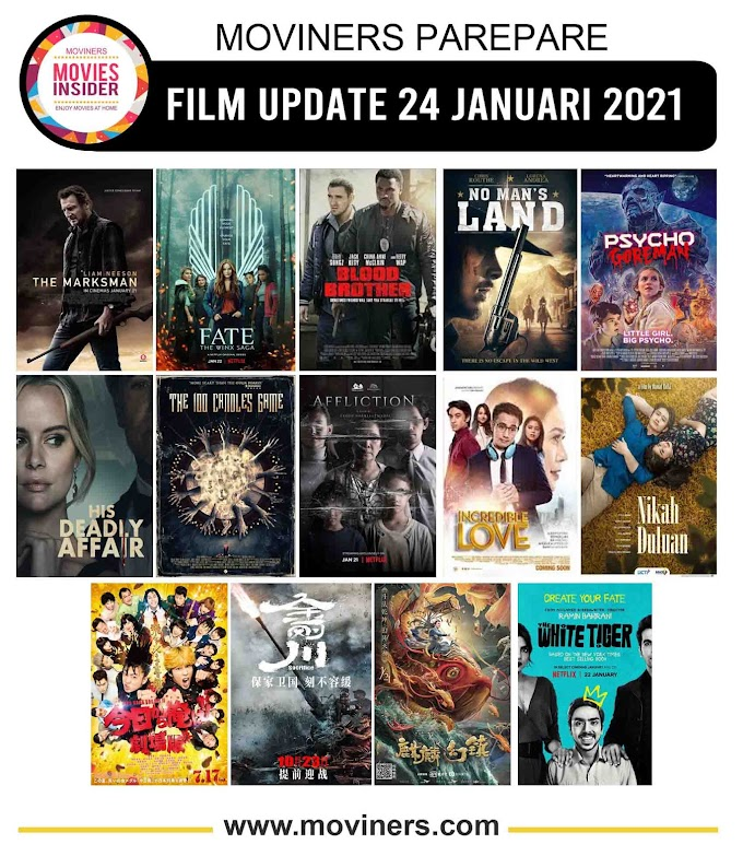 FILM UPDATE 24 JANUARI 2021