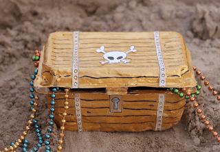 cofre de piratas para niños diy