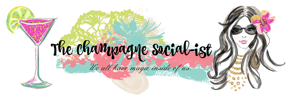 the champagne social