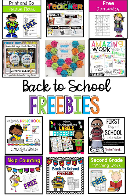 Freebies for the classroom
