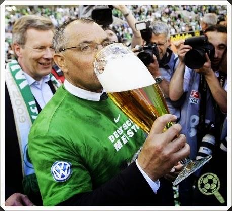 Feliz Magath Wolfsburg 2009