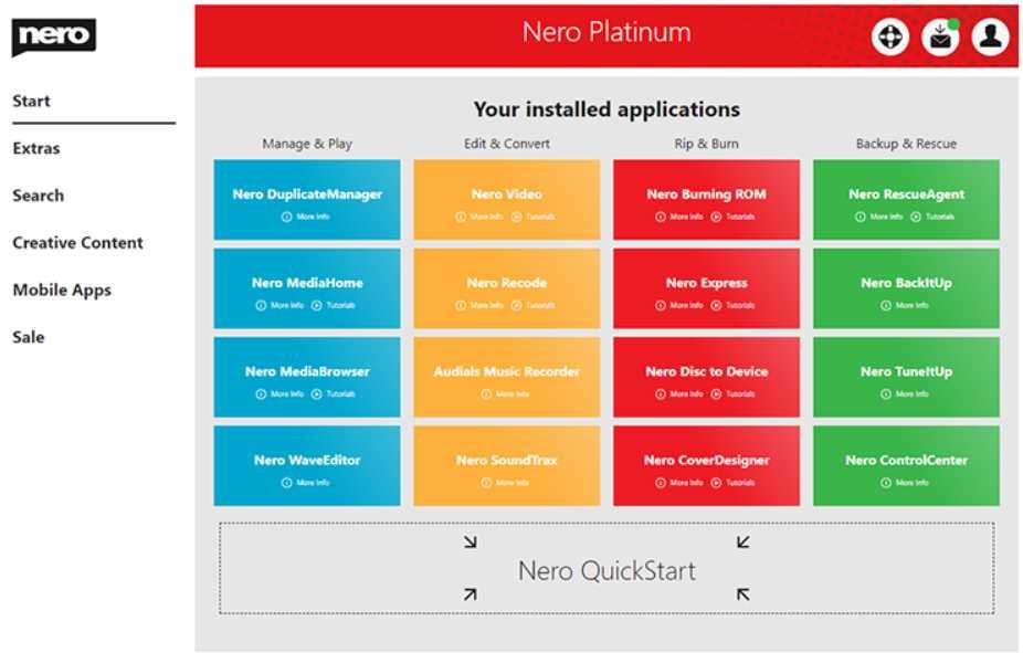 Nero Platinum 2020 Suite v22.0.02400
