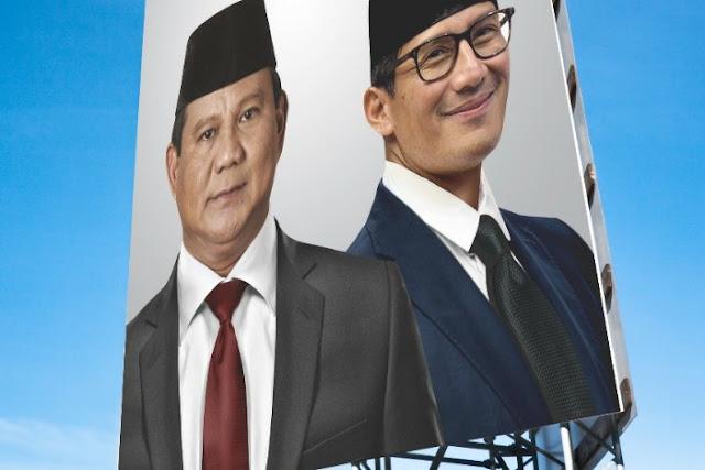 Pengamat: Pilih Sandi, Prabowo Sudah Menggali Kuburan Sendiri