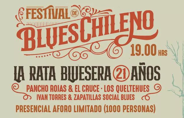 Teatro Caupolicán recibe una nueva edición del Festival de Blues Chileno musica chilena música chilena