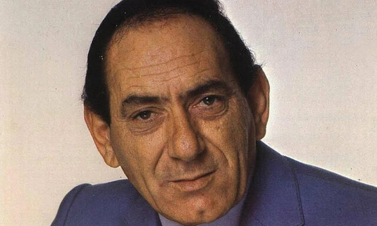 Σαν σήμερα το 1990 πέθανε ο μεγάλος λαϊκός τραγουδιστής Στράτος Διονυσίου