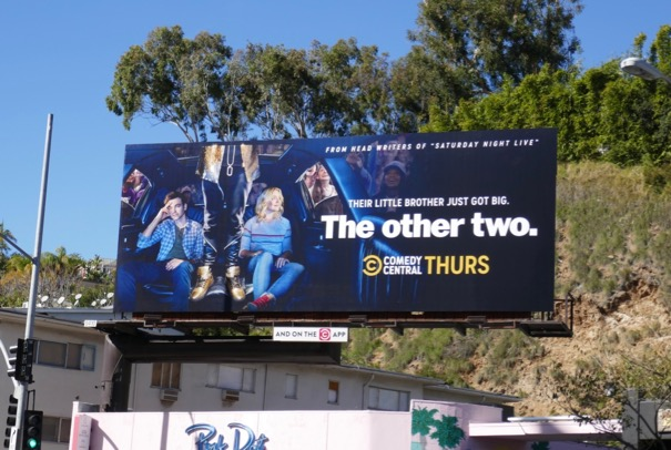 Other Two series premiere billboard