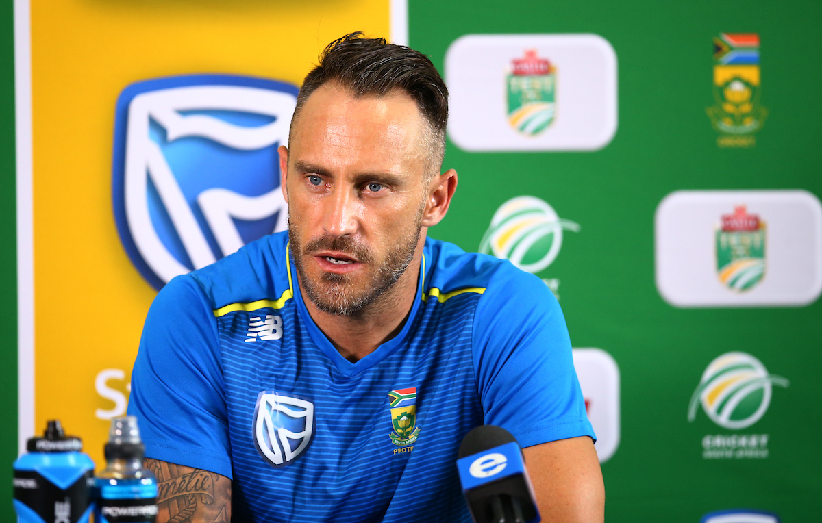 Faf du Plessis is no longer captain but he is still the team 'daddy'