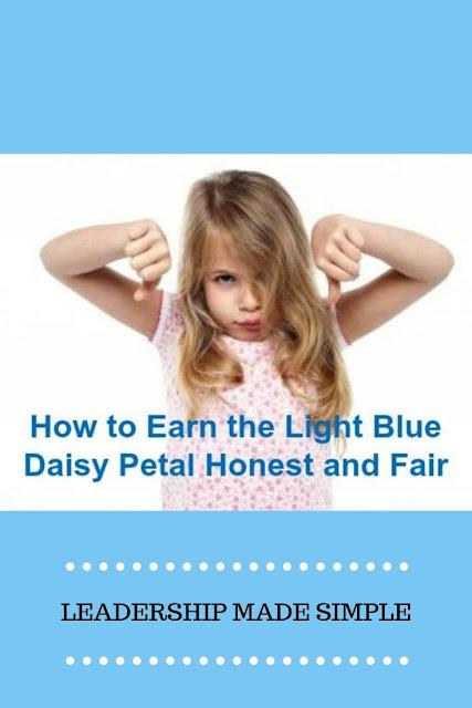 How to Earn the Light Blue Daisy Petal Honest and Fair