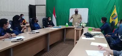 Kadis Kominfotik Buka Latsar Jurnalistik Kepada Pegawai Kominfotik Lampung