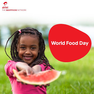 October 16 of every year is World Food Day